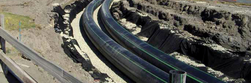 HDPE pipe chosen for durability and performance