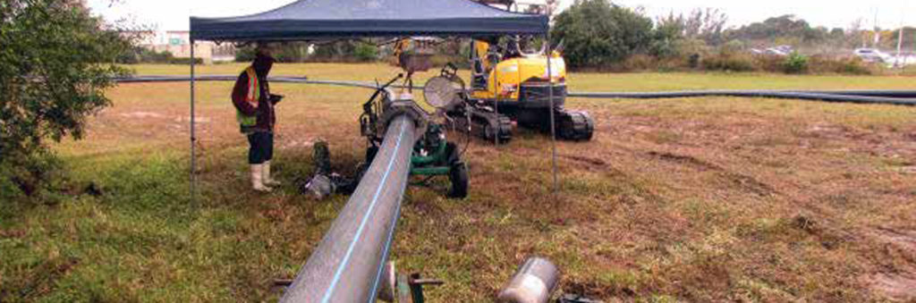 Revolutionary HDPE pipe installed in Tamarac, Fl