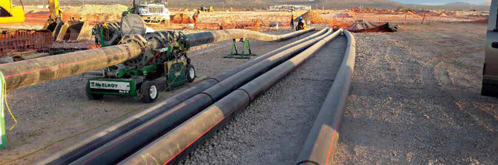 Firefighting FM listed HDPE pipe chosen for cost savings